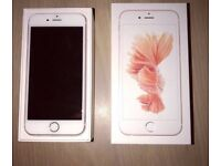 Apple iPhone 6s 32 Gb unlocked rose gold with apple care