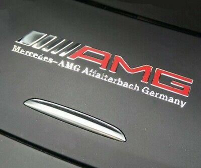 AMG Edition Chrom Mercedes Aufkleber logo alu AMG sticker embleme.