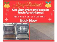 Oven clean carpet clean before Christmas