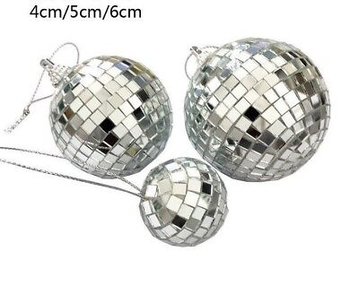 Disco Ball Cake Topper (Cake topper Baking  mirror Disco ball Golden Silver Christmas Party birthday)