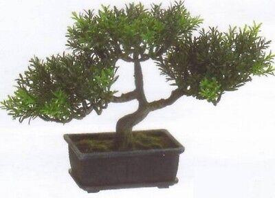 9 Artificial Tea Leaf Bonsai Tree Topiary In Outdoor Plant Arrangement Floral