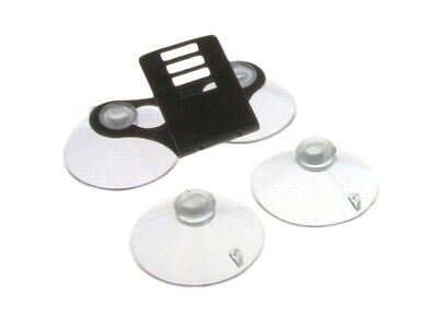 Windshield Bracket w/ 4 Suction Cups For Escort Passport Radar Detectors