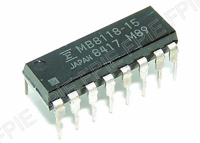 Mb8118-15 16384-bit Dynamic Ram Fujitsu