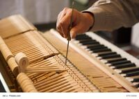 Piano tuning 514 206-0449 accordage Montreal areas