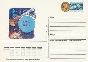Russia, Soviet Union prepaid postcard cosmos - <span itemprop=availableAtOrFrom>Bystra Slaska, Polska</span> - Russia, Soviet Union prepaid postcard cosmos - Bystra Slaska, Polska