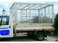 Cage for Transit pickup lorry, trailer, dog kennel run.
