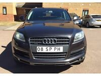LHD LEFT HAND DRIVE AUDI Q7 3.0 TDI S-LINE 7 SEATER AUTOMATIC FULLY LOADED 2006 SAT NAV TV KEYY LES