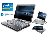 Can Deliver- HP Laptop Tablet - TouchScreen with stylis - Intel 1.8Ghz - 3GB Ram - Webcam