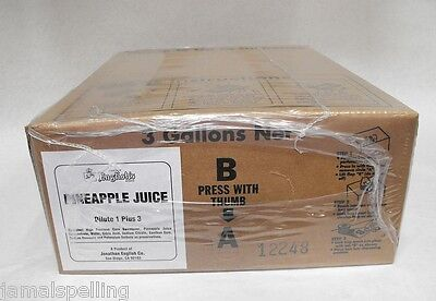 3 Gal Bib Pineapple Juice Dispenser Syrup For Wunderbar Soda Guns Free Usa Ship
