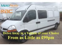 2010 Renault Master Crew Cabs LM35 DCi 100 with PSV