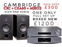 CAMBRIDGE AUDIO Separates System NEW/BOXED