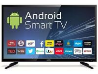 "Cello C40ANSMT 40"" Smart Android LED TV with Wi-Fi Freeview T2 HD NEW BOxED"
