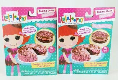Mix Baking Mixes - Lalaloopsy Baking Oven Mix- Chocolate & Strawberry Cake (2 PACK)