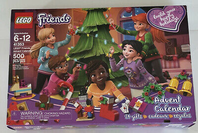 Lego Friends Christmas Advent Calendar 41353 Box Opens But Complete