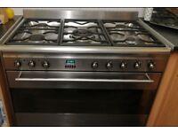 Smeg 900mm dual fuel range cooker