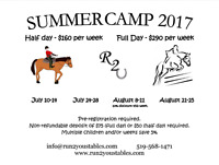 Horseback riding day camp!