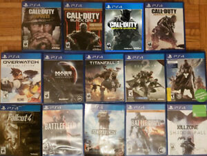 PS4 Shooter Action games (Various Prices)