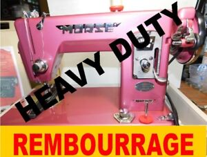 MACHINE A COUDRE HEAVY DUTY TOYOTA REMBOURRAGE CUIR,COURTEPOINTE