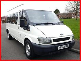 FORD TRANSIT 350 LONG WHEEL BASE 15 SEATER MINIBUS