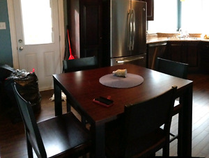 SOLD!!! Table and 4 Chairs