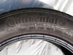 Three Continental Pure Contact 205/55HR16 tires