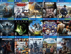 40+PS4 Games For Sale or Trade - COD, God Of War, GTA 5, more