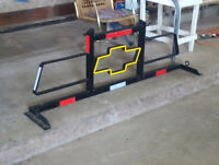 Home made Backrack for Pick up Truck/