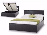 【❋❋ ITALIAN FAUX LEATHER ❋❋ 】 STORAGE BED FRAME HIGH QUALITY AVAILABLE IN DOUBLE & KING SIZE