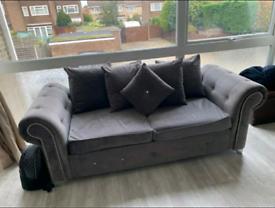 🥁🥁Luxury Mayfair🎏🎏Plush Velvet 3+2 Seater Sofa / corner suite..