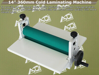 Intbuying 14 360mm Manual Vinyl Film Mounting Laminating Machine Cold Laminator