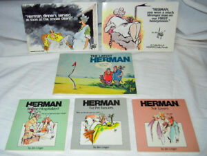 """Herman"" books by Jim Unger"