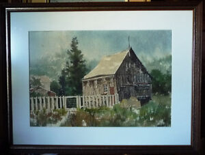 "Amish Backyard Fence and Shed by Marlene Jofriet ""The Backgate"""