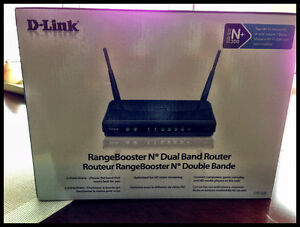 D-LInk Range Booster N Dual Band Router