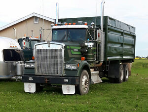 Silage truck for Hire Strathcona County Edmonton Area image 1