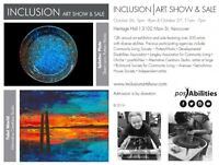 12th Annual INCLUSION Art Show and Sale