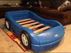 Little tikes car bed(single)