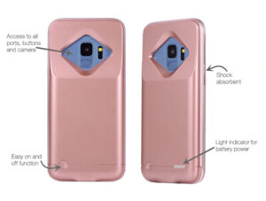 Battery phone case for Samsung S9