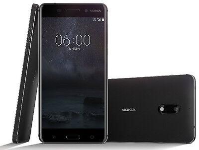 Nokia 6 64Gb Black Dual Sim Ram 4Gb Android Smartphone Factory Unlocked