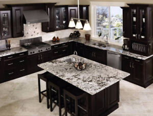 Granite and Quartz counter top for sales