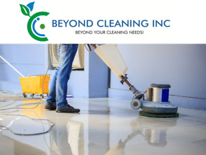 Industrial floor buffing service