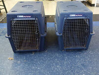 a few different size kennels for sale sm med and large