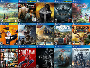 PS4 Games For Sale or Trade - Yakuza, Dragon Quest, NHL 19, more