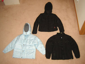 Girls and Boys Winter Jackets - 12, 14, L, 16, 18-20, ladies S,M