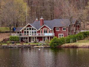 Maison de prestige rénovée haute gamme Lac-Poulin