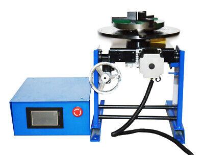 110v 50kg Welding Positioner Turntableplc Controller With 200mm Chuck