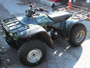 ATV Honda 300 Fourtrak 1995 in excellent conditon