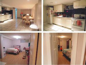 Walk to MAC - 3-bedroom basement apt for Rent - May