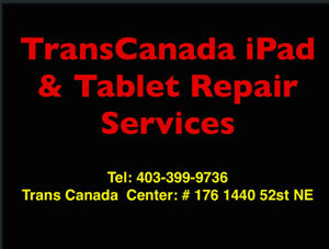 TransCanada iPad and tablet repair services 403-399-9736