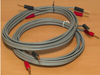 Linn K20 speaker cable pair - each 2.65m long (1 of 3)