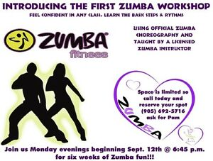 INTRODUCING THE FIRST ZUMBA WORKSHOP